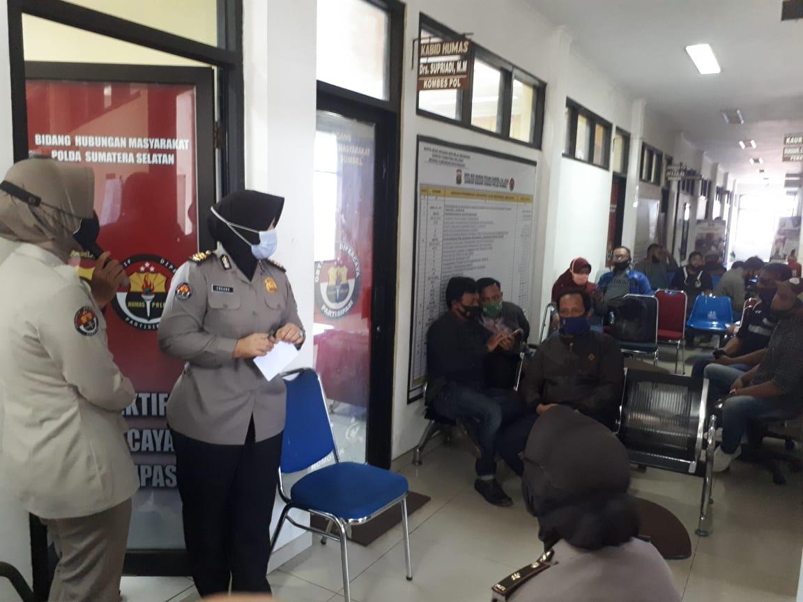 Silahturahmi Kabid Humas Polda Sumsel Bersama Media Cetak, Elektronik, Online, Tv dan Radio