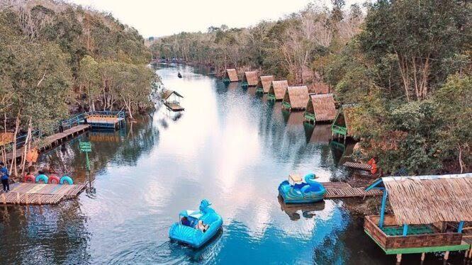 Wisata Danau Shuji Jadi Tren Saat Pandemi Corona