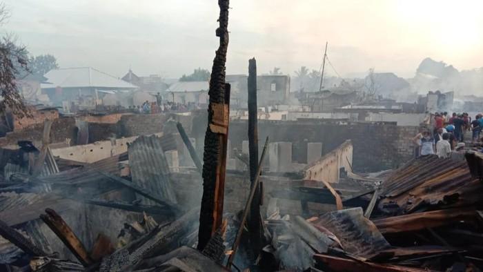 Puluhan Rumah di Kab Lahat Habis Dimakan Api