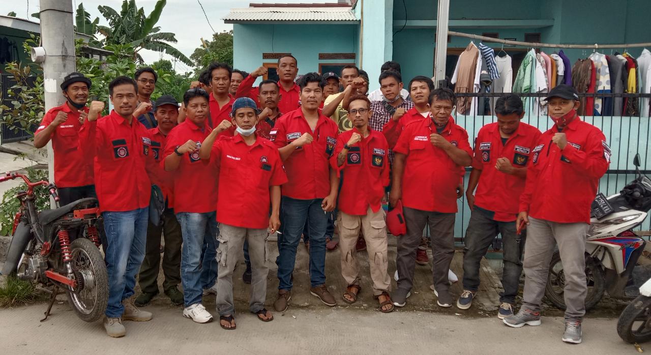 PAC Cibitung Sosialisasikan Pemuda Batak Bersatu di Desa Muktiwari