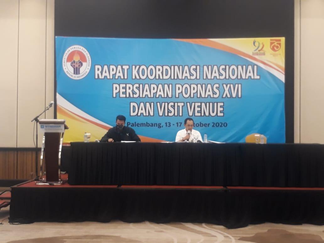 Kemenpora Mulai Adakan Pertemuan POPNAS Yang Akan Digelar 21 Maret 2021