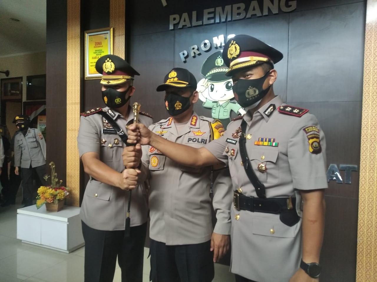 Polrestabes Palembang Adakan Sertijab