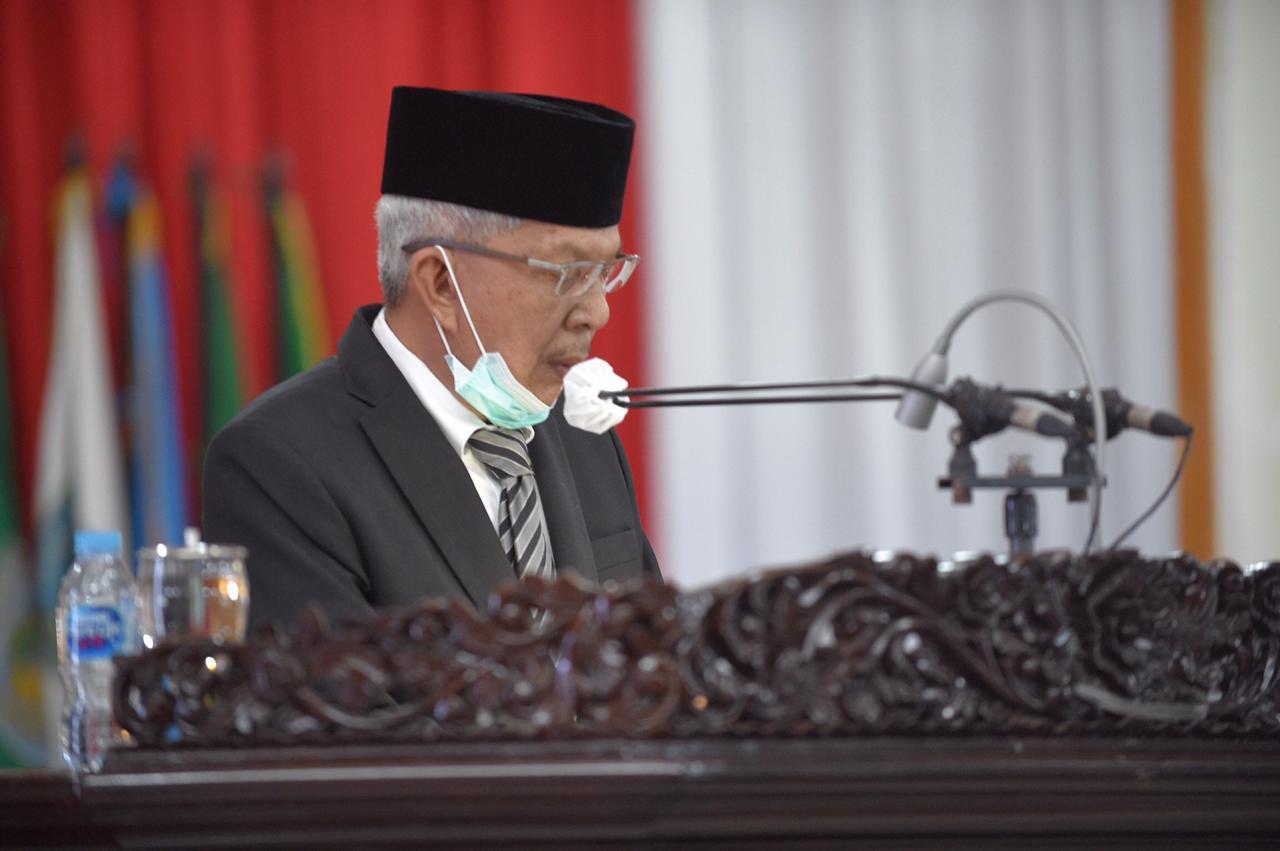 Mawardi Yahya Hadiri Rapat Paripurna XVII DPRD Prov Sumsel